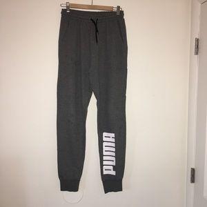 Puma grey sweatpants